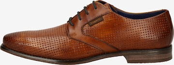 Pantofi cu șireturi 'Armo' de la bugatti pe maro