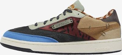 Reebok Classic Sneaker in blau / hellbraun / grau, Produktansicht