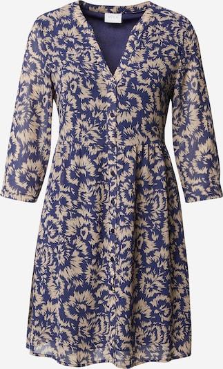 VILA Blousejurk 'Magis' in de kleur Beige / Blauw, Productweergave