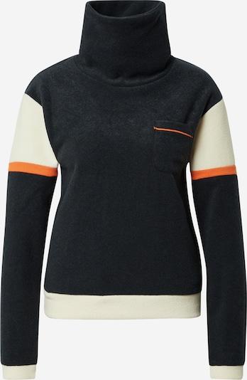 ROXY Sportsweatshirt 'Kirah' in beige / orange / schwarz, Produktansicht
