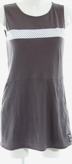 Iriedaily Shirtkleid in M in hellgrau / weiß, Produktansicht