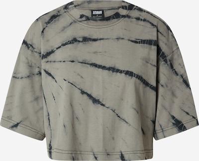 Urban Classics T-Shirt in rauchgrau / schwarz, Produktansicht