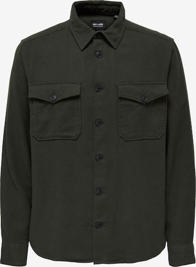 Only & Sons Πουκάμισο 'MILO' σε σκούρο πράσινο, Άποψη προϊόντος