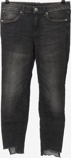 B&C 7/8 Jeans in 27-28 in schwarz, Produktansicht