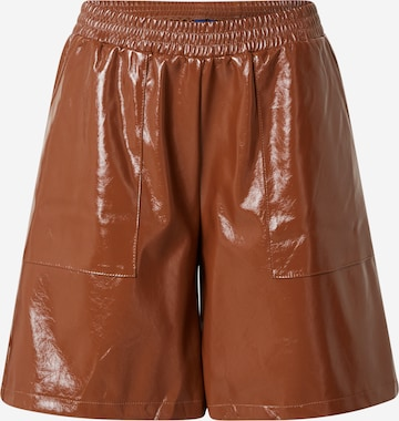 Résumé Shorts  'Gila' in Braun