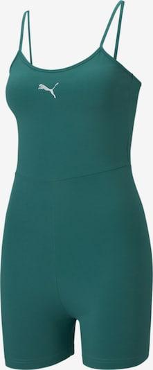 PUMA Jumpsuit 'Evide' in de kleur Smaragd / Wit, Productweergave