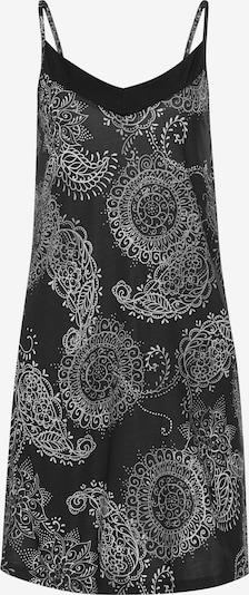 VIVANCE Nachthemd in grau / schwarz / weiß, Produktansicht