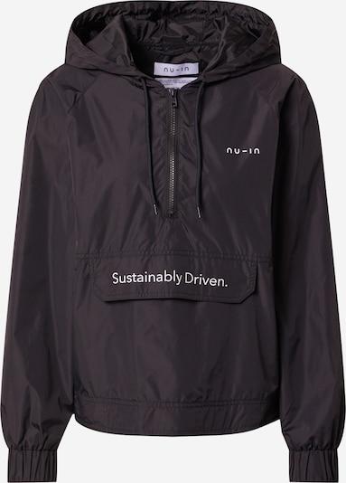 NU-IN Jacke in schwarz / weiß, Produktansicht