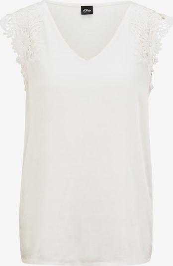 s.Oliver BLACK LABEL T-Shirt in beige, Produktansicht