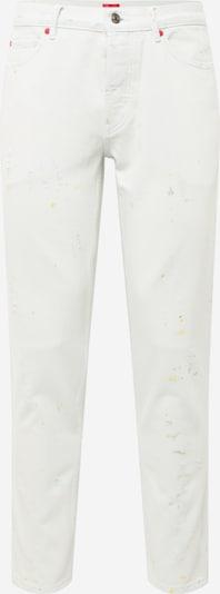 Jeans HUGO pe galben / verde deschis / roșu / negru / alb denim, Vizualizare produs