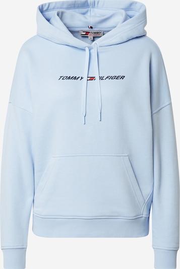 Tommy Sport Sport sweatshirt i kobaltblå / ljusblå / röd / vit, Produktvy