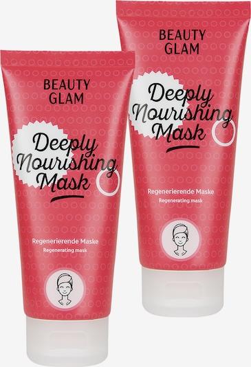 Beauty Glam Gesichtspflege 'Deeply Nourishing Mask' in hellrot / weiß, Produktansicht