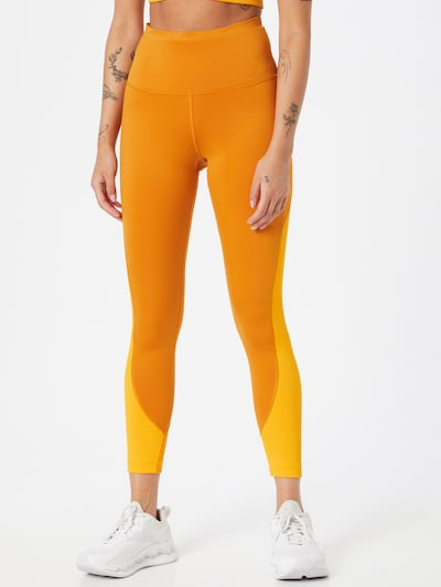 Pantaloni sport Reebok Sport pe galben / portocaliu, Vizualizare model