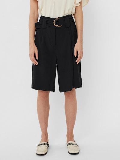 VERO MODA Plisované nohavice 'ORLA' - čierna, Model/-ka