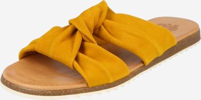 Apple of Eden Pantolette in goldgelb, Produktansicht