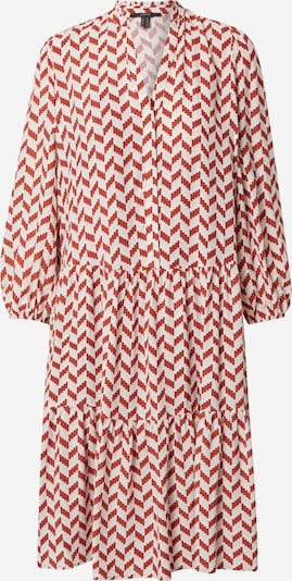 Esprit Collection Kleid in rostbraun / weiß, Produktansicht