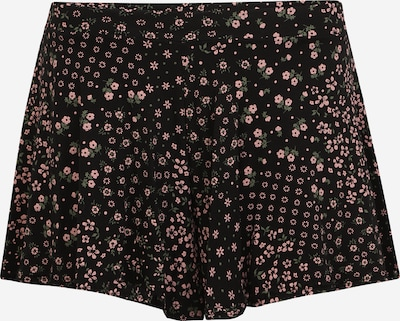 Missguided (Petite) Kalhoty - pastelově zelená / růžová / černá, Produkt