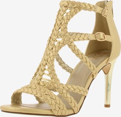 BULLBOXER Sandale in gold, Produktansicht