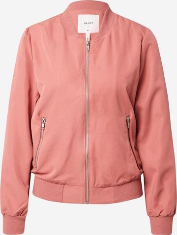 OBJECTPrijelazna jakna 'Lee Ann' - crvena boja