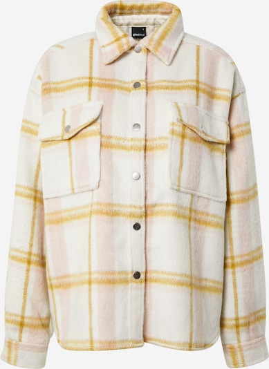 Gina Tricot Between-season jacket 'Fanny' in yellow gold / Pink / natural white, Item view