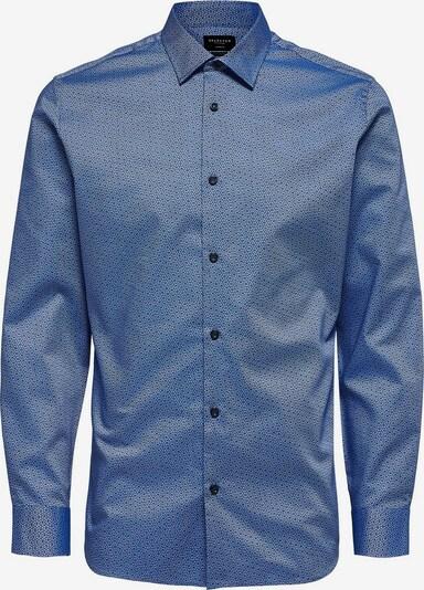 SELECTED HOMME Zakelijk overhemd in de kleur Blauw / Donkerblauw, Productweergave