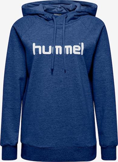 Hummel Sportsweatshirt in blaumeliert, Produktansicht
