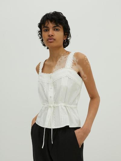 Camicia da donna 'Taren' EDITED di colore bianco, Visualizzazione modelli