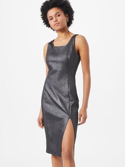 Calvin Klein Jeans Kleid 'Milano' in silber, Modelansicht