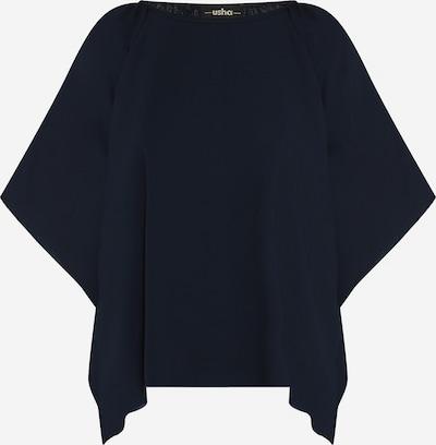 usha BLACK LABEL Bluse in nachtblau, Produktansicht