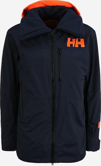 HELLY HANSEN Veste outdoor en bleu marine / orange, Vue avec produit