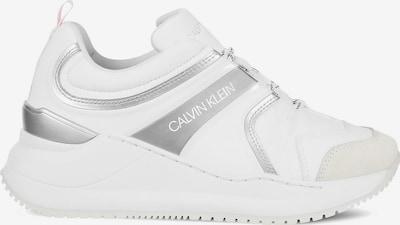 Calvin Klein Jeans Tenisky - stříbrně šedá / starorůžová / bílá, Produkt