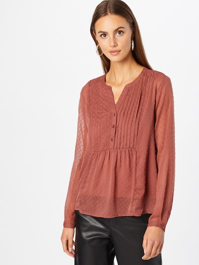 ABOUT YOU Blouse 'Insa' in Rusty red, View model