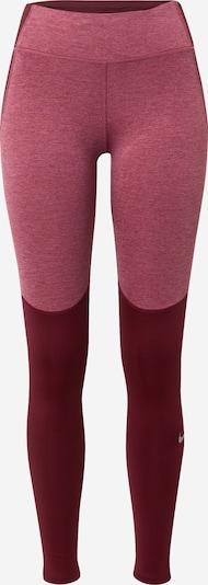 Sportinės kelnės 'Fast Warm' iš NIKE , spalva - uogų spalva / rausvai violetinė, Prekių apžvalga