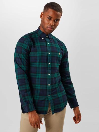 Dalykiniai marškiniai iš POLO RALPH LAUREN , spalva - tamsiai mėlyna / smaragdinė spalva: Vaizdas iš priekio