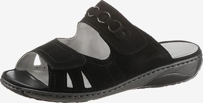WALDLÄUFER Pantolette in schwarz, Produktansicht