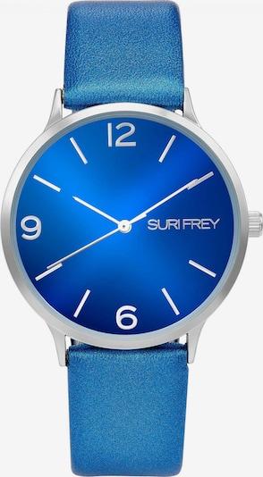 Suri Frey Montre à affichage analogique 'Roxy' en bleu / argent, Vue avec produit