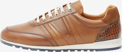 Van Lier Sneaker 'Anzano' in cognac, Produktansicht