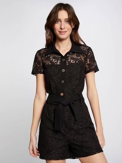 Tuta jumpsuit Morgan di colore nero, Visualizzazione modelli