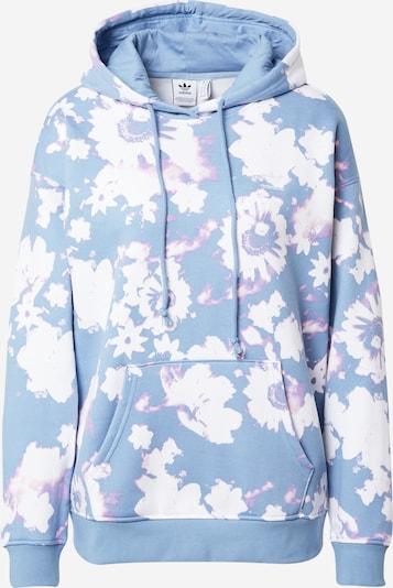 ADIDAS ORIGINALS Sweatshirt in hellblau / helllila / weiß, Produktansicht