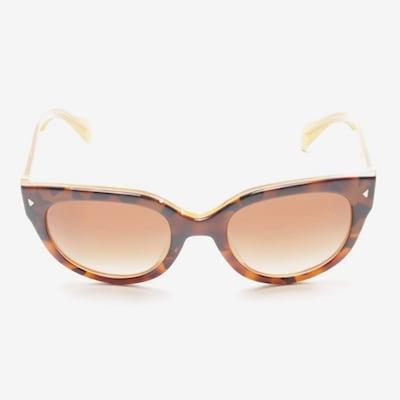 PRADA Sonnenbrille in One Size in braun, Produktansicht