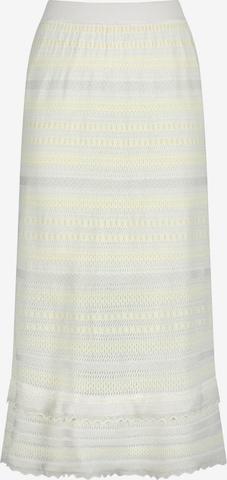 Nicowa Skirt 'SANAWO' in White