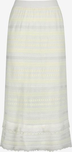 Nicowa Skirt 'SANAWO' in Light yellow / White, Item view