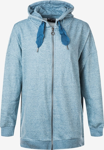 Athlecia Athletic Zip-Up Hoodie 'Bola' in Blue
