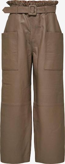Pantaloni SELECTED FEMME pe maro, Vizualizare produs