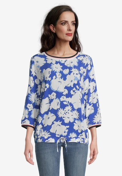 Betty Barclay Blouse in Blue / Dusky pink / Black / White, View model