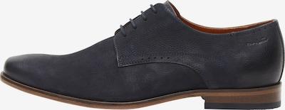 Van Lier Chaussure à lacets ' Rodos ' en bleu, Vue avec produit