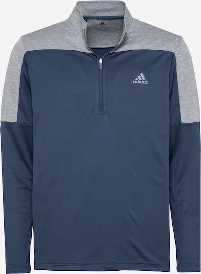 adidas Golf Sportovní mikina - chladná modrá / šedý melír, Produkt