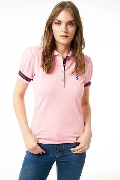 Jimmy Sanders Shirt in pink / schwarz: Frontalansicht