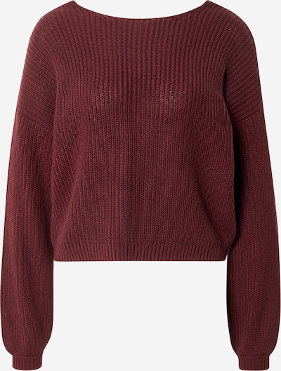ONLY Pullover 'Xenia' in weinrot, Produktansicht