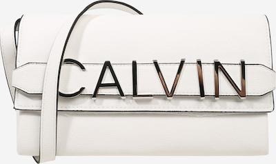 Calvin Klein Clutch in weiß, Produktansicht